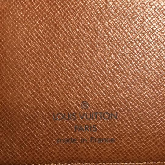 Louis Vuitton Monogramed LV Coated Canvas Long Wallet