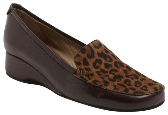 Preload https://item2.tradesy.com/images/anyi-lu-brown-leather-leopard-print-calf-hair-gaby-square-toe-loafer-wedges-size-eu-36-approx-us-6-r-23337796-0-1.jpg?width=440&height=440