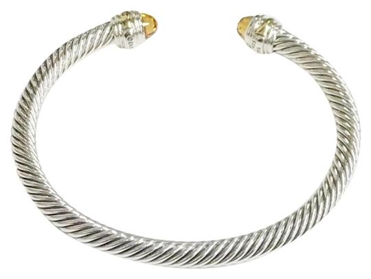 Preload https://item4.tradesy.com/images/david-yurman-never-worn-citrine-14-karat-yellow-gold-and-sterling-silver-cable-nwot-fits-up-to-725-5-23337813-0-2.jpg?width=440&height=440