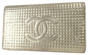 Chanel CHANEL CC with logo purse Leather