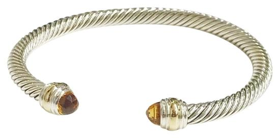 Preload https://item1.tradesy.com/images/david-yurman-never-worn-citrine-14-karat-yellow-gold-and-sterling-silver-cable-nwot-fits-up-to-725-5-23337825-0-2.jpg?width=440&height=440