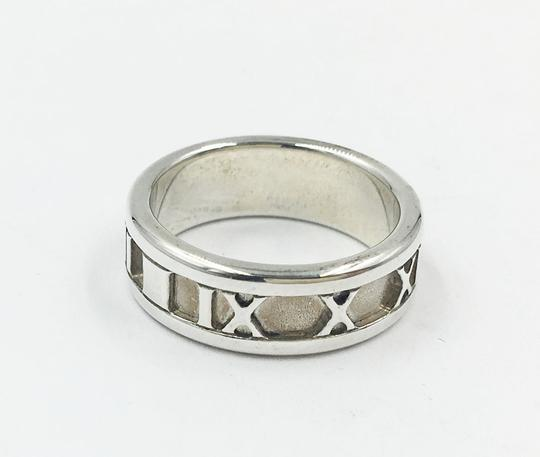 Tiffany & Co. TIFFANY 925 SILVER ATLAS RING SIZE 4.5
