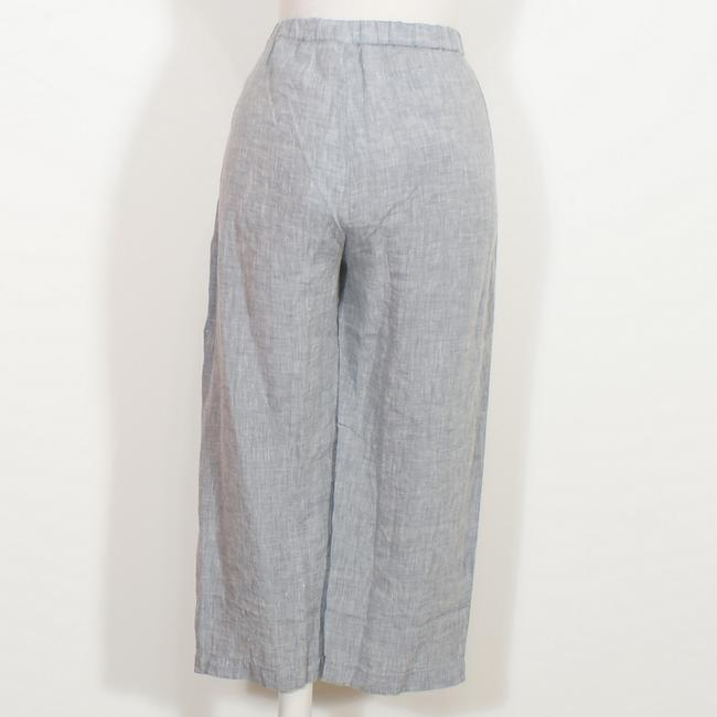Eileen Fisher Capri/Cropped Pants Chambray Blue