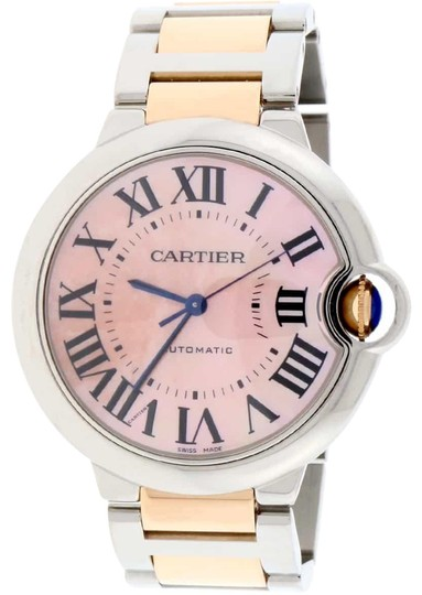 Preload https://img-static.tradesy.com/item/23337886/cartier-ballon-bleu-2-tone-18k-rosegold-and-ss-orig-pink-mop-dial-36mm-w6920033-watch-0-2-540-540.jpg