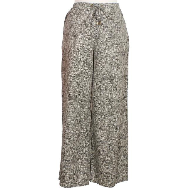 Preload https://item4.tradesy.com/images/eileen-fisher-pebbleblack-droplet-printed-organic-cotton-wide-drawstring-pm-capricropped-pants-size--23337948-0-0.jpg?width=400&height=650