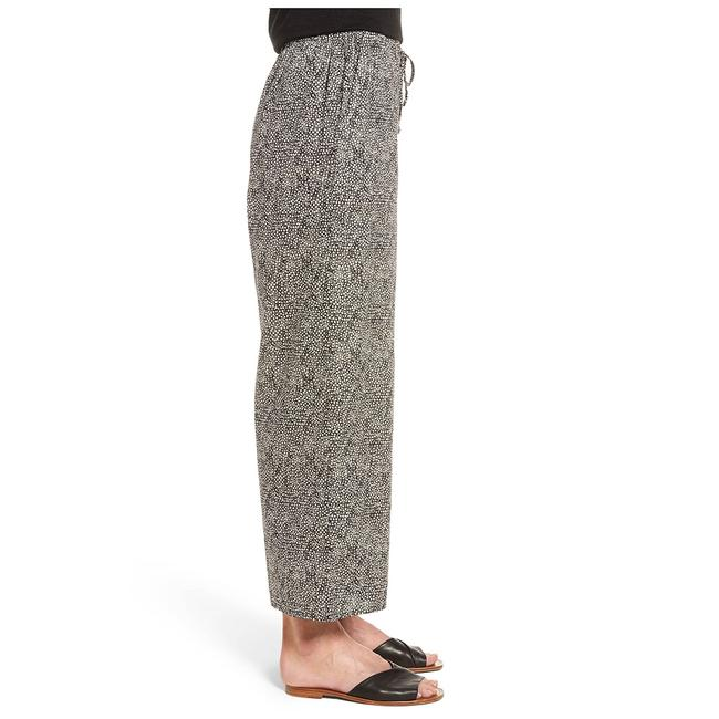 Eileen Fisher Capri/Cropped Pants Pebble/Black Image 1
