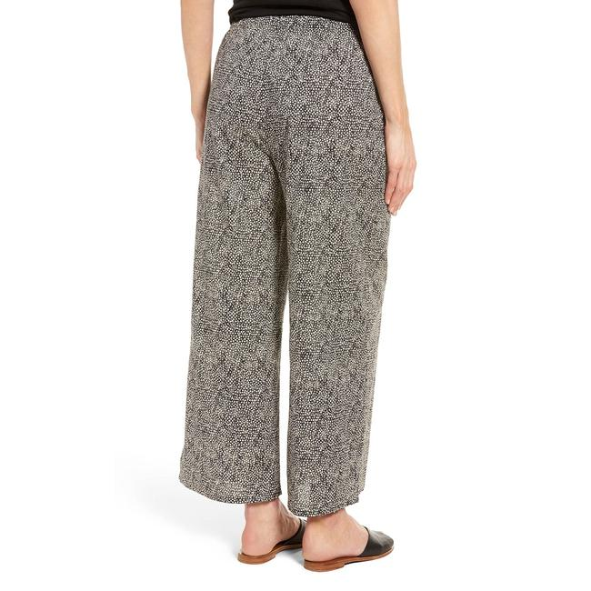 Eileen Fisher Capri/Cropped Pants Pebble/Black Image 6