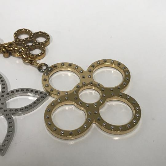 Louis Vuitton Silver/Gold Tone Tapage Bag Charm Accessory