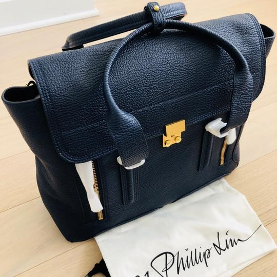 3.1 Phillip Lim Satchel in ink/navy Image 11