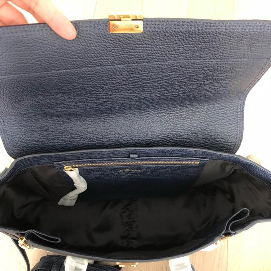 3.1 Phillip Lim Satchel in ink/navy Image 4
