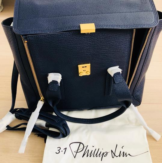 3.1 Phillip Lim Satchel in ink/navy Image 5