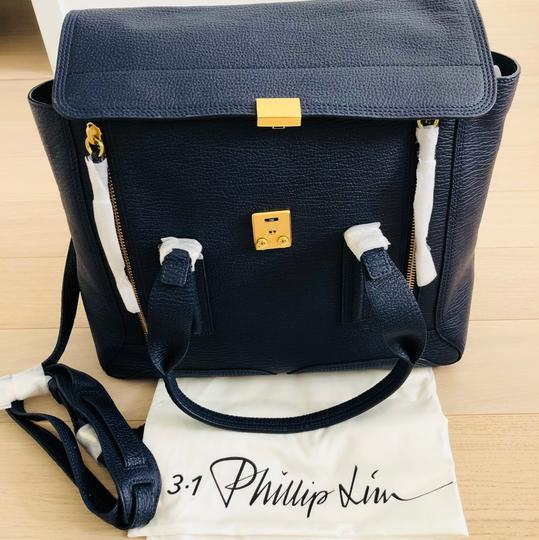 3.1 Phillip Lim Satchel in ink/navy Image 6