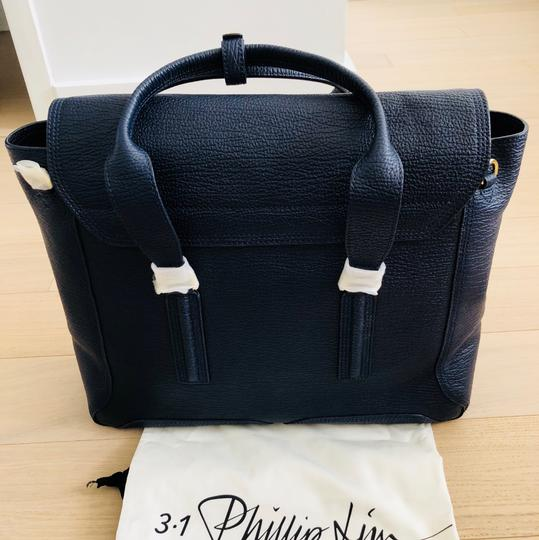 3.1 Phillip Lim Satchel in ink/navy Image 8
