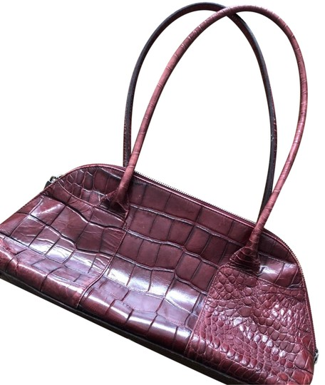Preload https://item1.tradesy.com/images/furla-red-crocodile-skin-leather-shoulder-bag-23337995-0-1.jpg?width=440&height=440