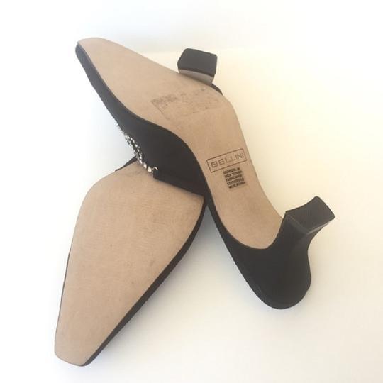 Bellini Leather Pumps Classic Work Party Black Mules