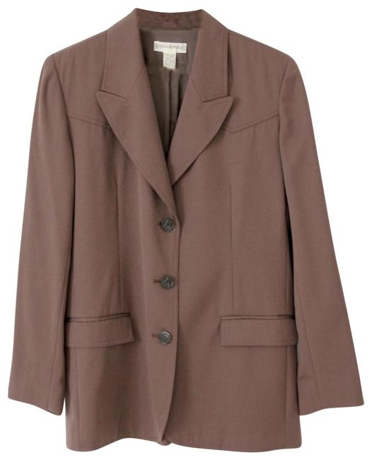 Preload https://img-static.tradesy.com/item/23338043/banana-republic-brown-equestrian-long-wool-blazer-size-6-s-0-1-650-650.jpg