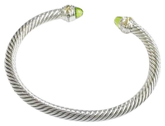 Preload https://item1.tradesy.com/images/david-yurman-never-worn-peridot-14-karat-yellow-gold-and-sterling-silver-cable-nwot-fits-up-to-725-5-23338055-0-2.jpg?width=440&height=440