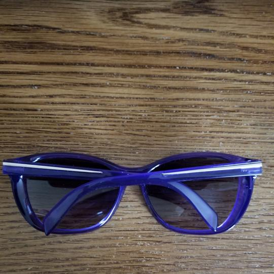 Fendi Purple Fendi Sunglasses Excellent