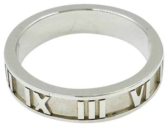 Tiffany & Co. 925 Silver ATLAS RING SIZE 4.25