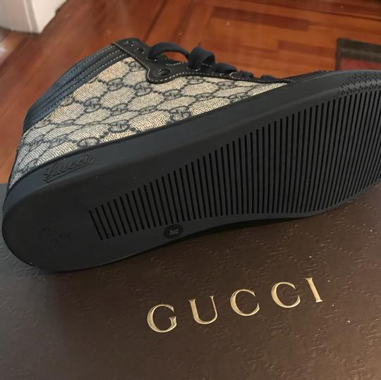 Gucci Navy blue and gray Athletic