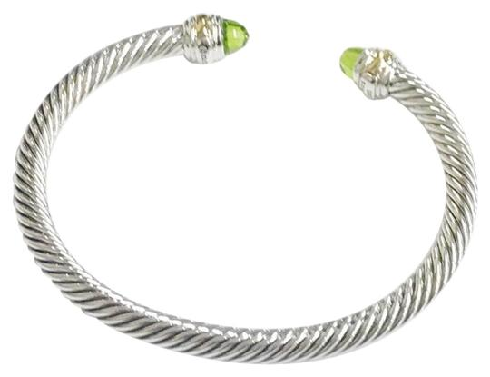 Preload https://item5.tradesy.com/images/david-yurman-never-worn-peridot-14-karat-yellow-gold-and-sterling-silver-cable-nwot-fits-up-to-725-5-23338089-0-2.jpg?width=440&height=440