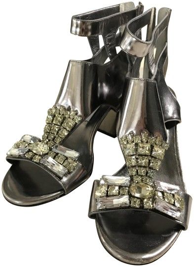 Preload https://item4.tradesy.com/images/jimmy-choo-silver-women-s-metallic-morgan-65-steel-mirror-leather-chunky-wi-sandals-size-eu-37-appro-23338098-0-1.jpg?width=440&height=440