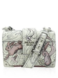 Prada James Jean Bunny Ltd. Edition Bunny Cross Body Bag