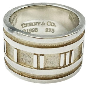 Tiffany & Co. TIFFANY 925 SILVER ATLAS RING SIZE 4.75