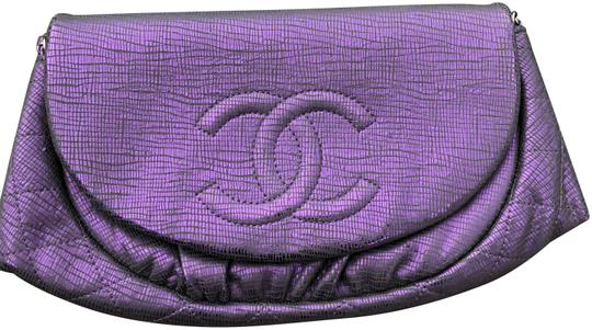 Preload https://item3.tradesy.com/images/chanel-wallet-on-chain-half-moon-metallic-ed-color-purple-leather-cross-body-bag-23338202-0-1.jpg?width=440&height=440