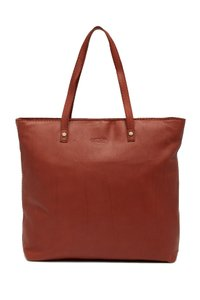 American Leather Co Handbag Tote in Brandy SMOOTH