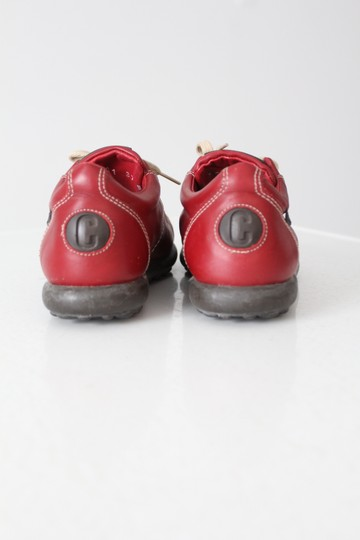 Camper Leather Tennis Sport Red Athletic