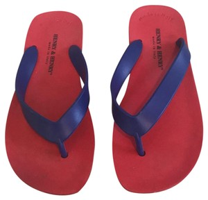 Henry & Henry red Sandals