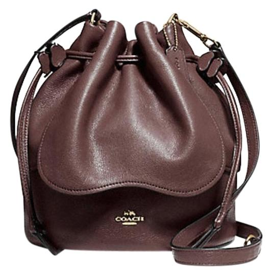Preload https://item3.tradesy.com/images/coach-petal-drawstring-oxblood-leather-cross-body-bag-23338297-0-1.jpg?width=440&height=440