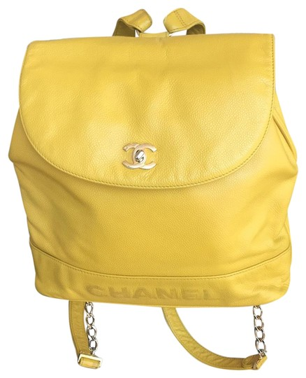 Preload https://item2.tradesy.com/images/chanel-backpack-caviar-cc-logo-yellow-calfskin-leather-backpack-23338326-0-1.jpg?width=440&height=440