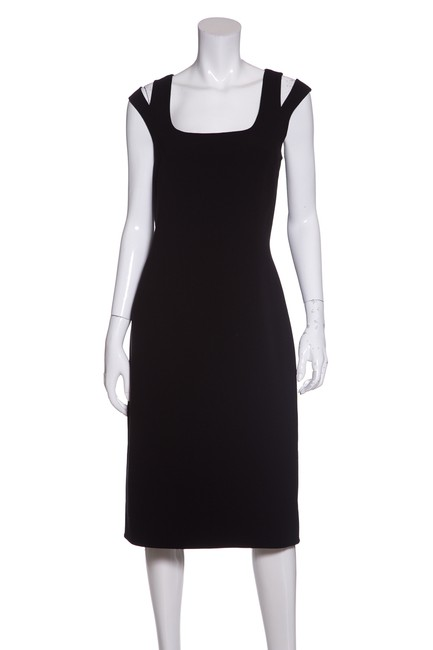 Preload https://img-static.tradesy.com/item/23338368/michael-kors-black-double-shoulder-strap-short-casual-dress-size-12-l-0-0-650-650.jpg