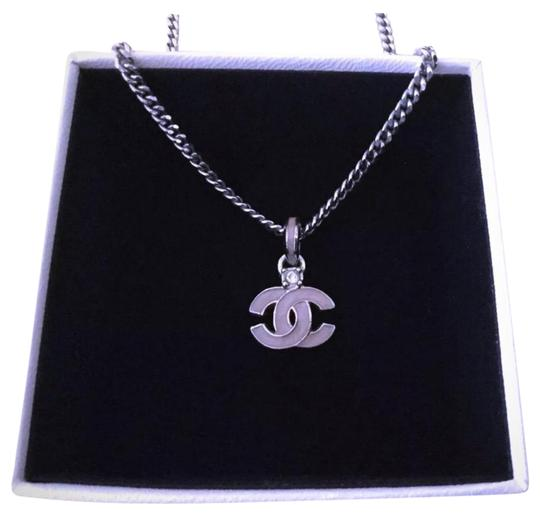 Preload https://item1.tradesy.com/images/chanel-pink-cc-pendant-necklace-23338370-0-1.jpg?width=440&height=440