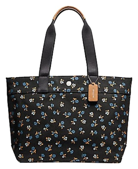 Preload https://item4.tradesy.com/images/coach-with-buffalo-plaid-print-h-f25919-black-multiblack-antique-nickel-leather-tote-23338378-0-1.jpg?width=440&height=440