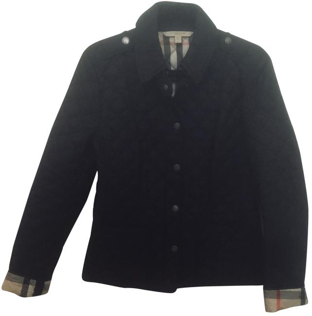 Preload https://item2.tradesy.com/images/burberry-brit-black-jacket-size-8-m-23338381-0-2.jpg?width=400&height=650
