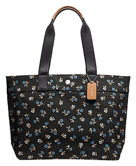 Preload https://item5.tradesy.com/images/coach-with-buffalo-plaid-print-h-f25919-black-multiblack-antique-nickel-leather-tote-23338389-0-1.jpg?width=440&height=440