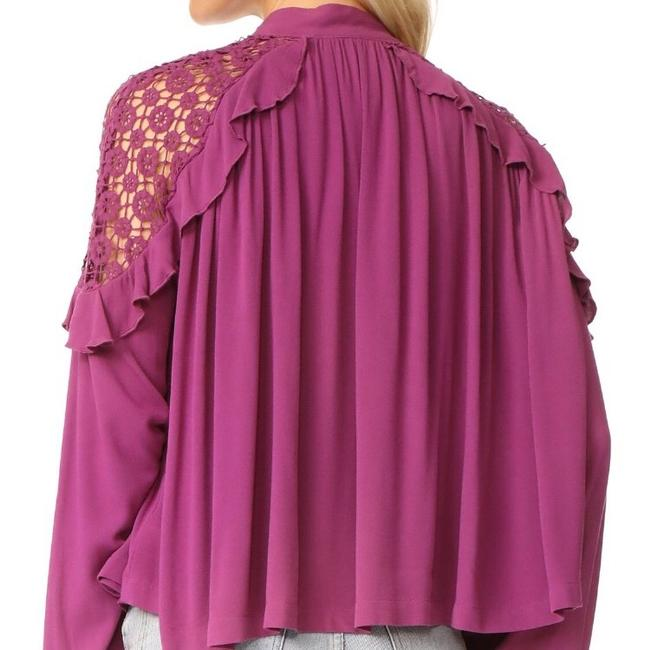 Free People Top Raspberry Pink Image 3