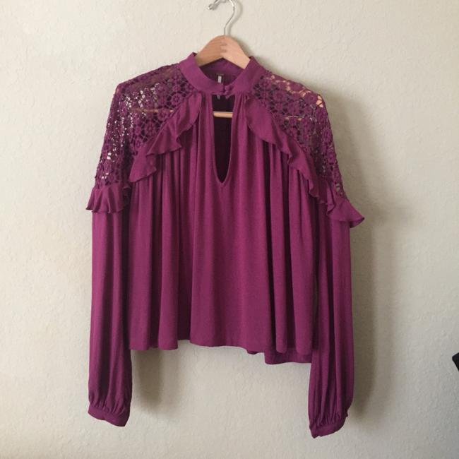 Free People Top Raspberry Pink Image 6