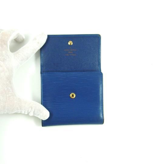 Louis Vuitton Epi Coated Leather Porte-Monnaie Cartes Trifold Wallet France