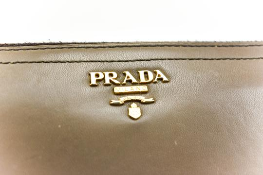 Prada Leather & Logo, Long Ziparound Wallet