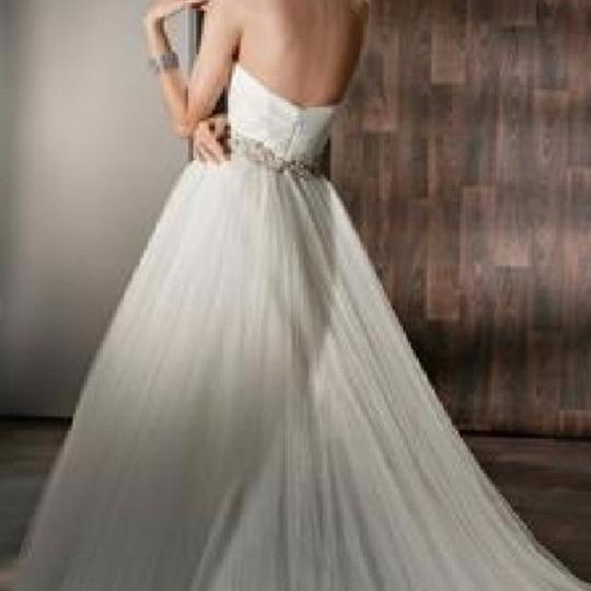 Ivory Tulle 532 Formal Wedding Dress Size 12 (L)