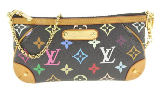Preload https://item1.tradesy.com/images/louis-vuitton-pochette-milla-multicolore-monogram-black-coated-canvas-shoulder-bag-23338480-0-2.jpg?width=440&height=440