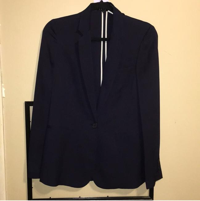 Theory navy blue Blazer Image 1
