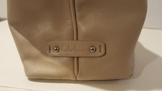 Cole Haan Buckle Leather Classic Shoulder Bag