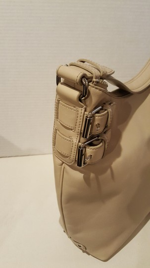 Cole Haan Buckle Leather Classic Shoulder Bag Image 2