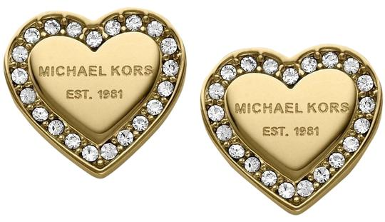 Preload https://img-static.tradesy.com/item/23338575/michael-kors-gold-tone-crystal-heart-stud-earrings-0-1-540-540.jpg