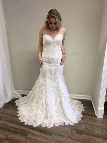 Preload https://img-static.tradesy.com/item/23338610/lillian-west-light-gold-ivory-lace-6399-vintage-wedding-dress-size-10-m-0-1-540-540.jpg